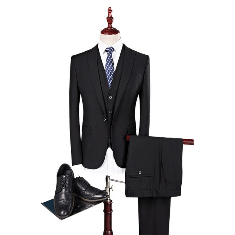 Fashion Groom Wedding Dress Men 2020 Slim Fit Mens Suits With Pants Elegant High Quality Costume Homme 3 Pieces Ternos Masculino