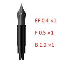 Hongdian nib f/ef/b nib para caneta caneta caneta caneta substituição nibs reposição peças originais escritório prática suprimentos presente