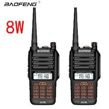 2pcs Baofeng UV-9R Waterproof Walkie Talkie 8W Two Way Radio Dual Band Handheld 10km long range UV9R CB Ham portable Radio