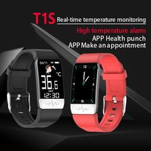 Unisex Smart Watch BodyTemperature Measurement 24 hours High Quality Fashion