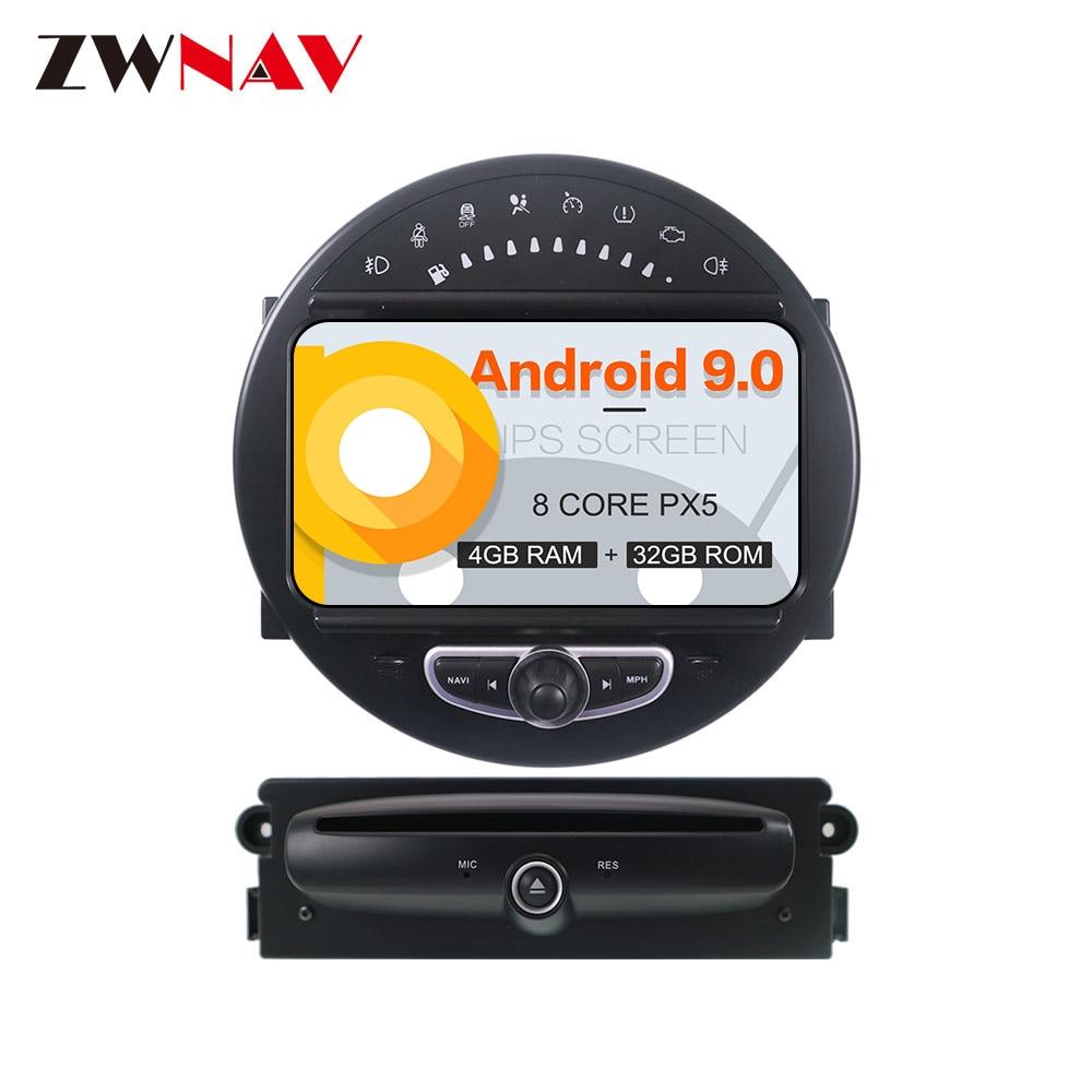 Android 9 Car GPS Navigation DVD player Headunit For Mini Cooper 2006 2013 screen headunit multimedia