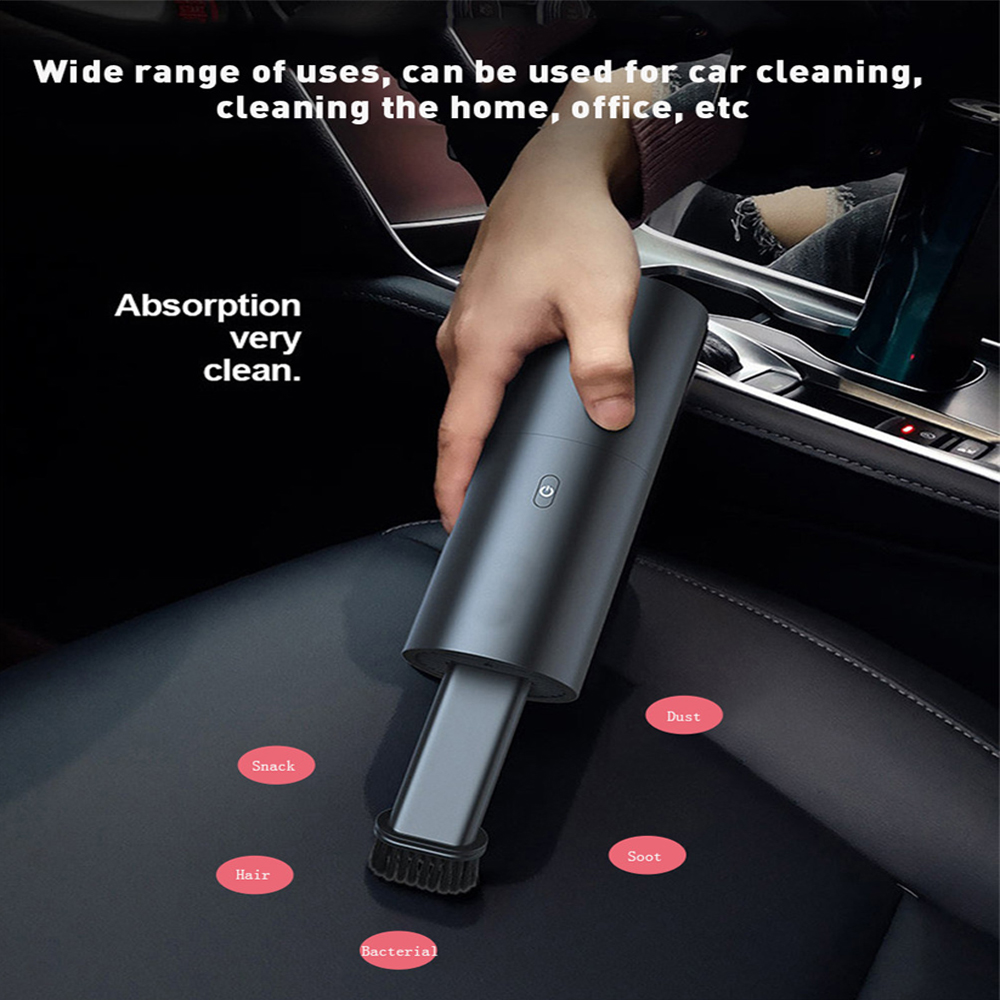 Aspirateur de voiture à main sans fil 35W | Portable, Aspirateur de voiture humide et sec à double usage, nouvelle collection