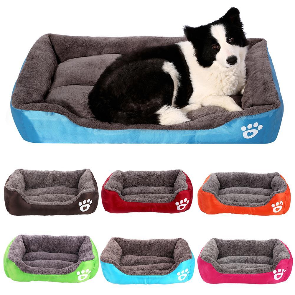 Pet Dog Cat Soft Cotton Warm House Kennel Bed Puppy Cushion Nest Mat Blanket 2020 thumbnail