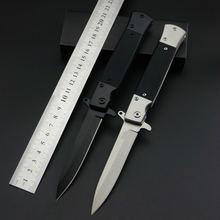 Высокое качество 5cr13m нож g10 Ручка складной кемпинг multi