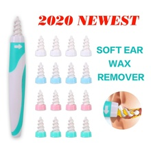 16 Replacement Tip Ear Cleaner Earpick Easy Ear Wax Remover