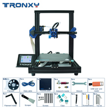 Tronxy XY-2 PRO Auto Level 3D Printer Kit Resume Power Failure Printing Fast Assembly Sensor 3.5''Touch Power Failure Printing newest ender 3 pro 3d printer diy kit upgraded cmagnet build plate resume power failure printing meanwell power soft magnetic