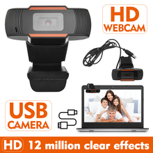 HOT Webcam 1080P USB 2.0 PC Camera With MIC HD Webcam Web Cam Camera 1920*1080P Video Record For PC Laptop Skype MSN In Stock