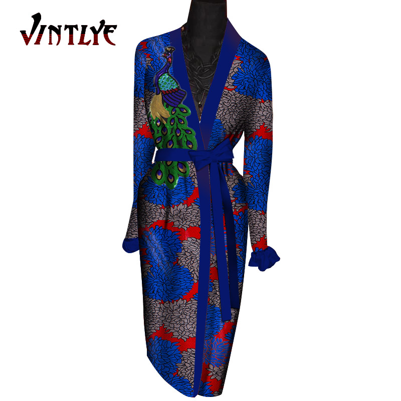 Robe africaine femme africano roupões longos para