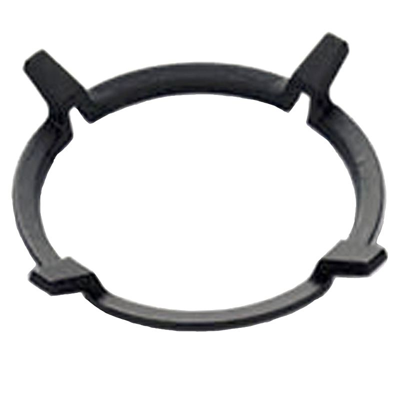 1Pc Black Wok Stands Cast Iron Wok Pan Support Rack for Burners Gas Hobs Cookers Cookers Kitchen Supplies Tool Accessories