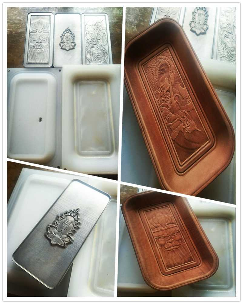 Hand-work unique design tools-Leather shaping mould-Handcrafted leather tools-This mold is used to make leather storage trays