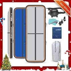 Colchoneta inflable para gimnasia Rimdoc Airtrack, colchoneta para gimnasio, pista de aire, 6M, 5M, 4M, esterilla para gimnasio, colchoneta de aire, pista de aire, regalo de Navidad para chico