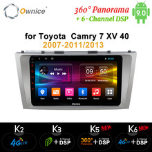 Ownice K3 K5 K6 2 Din 8 コアの Android 9.0 車の Dvd Gps ナビのトヨタカムリ v40 2007- 2011 2013 4 4G LTE 360 パノラマ DSP SPDIF(China)