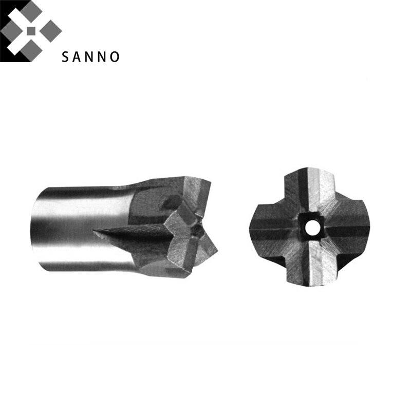 brocas de núcleo d100mm atarraxamento cruz para perfuração de rocha, túnel
