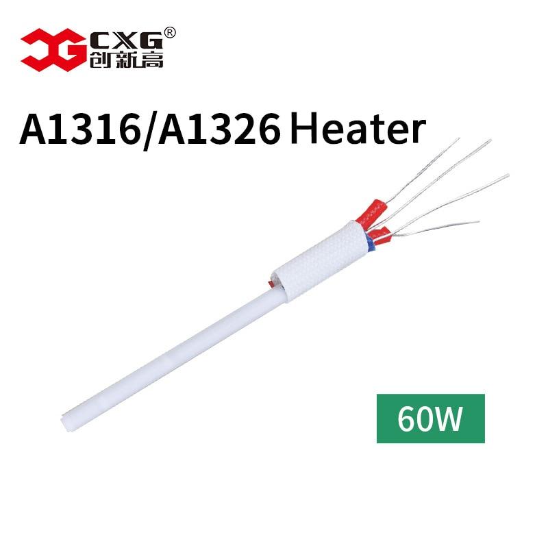 Cxg ferro de solda de alta qualidade núcleo aquecimento cerâmico a1326 com função detecção temperatura a1316 60w 110v/220v