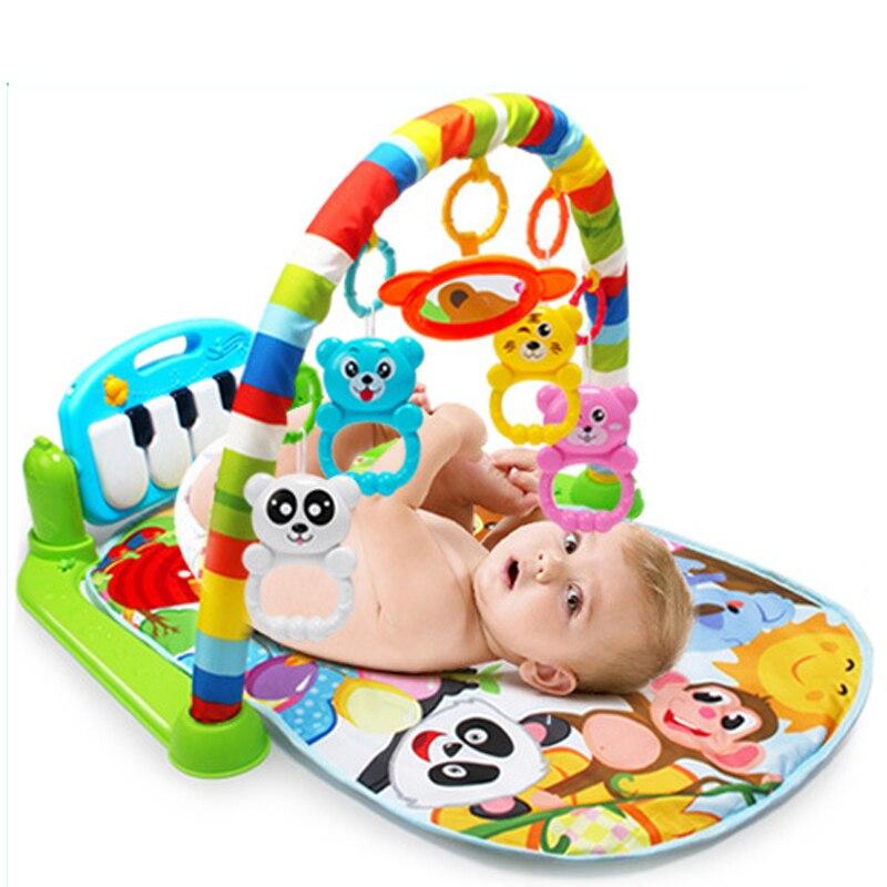 Tapete infantil de música, tapete para crianças quebra-cabeça, teclado de piano infantil, playmat, educação precoce, ginásio, rastejando, jogo, almofada brinquedo,