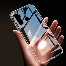 Ultra-thin transparent Soft TPU case For OPPO