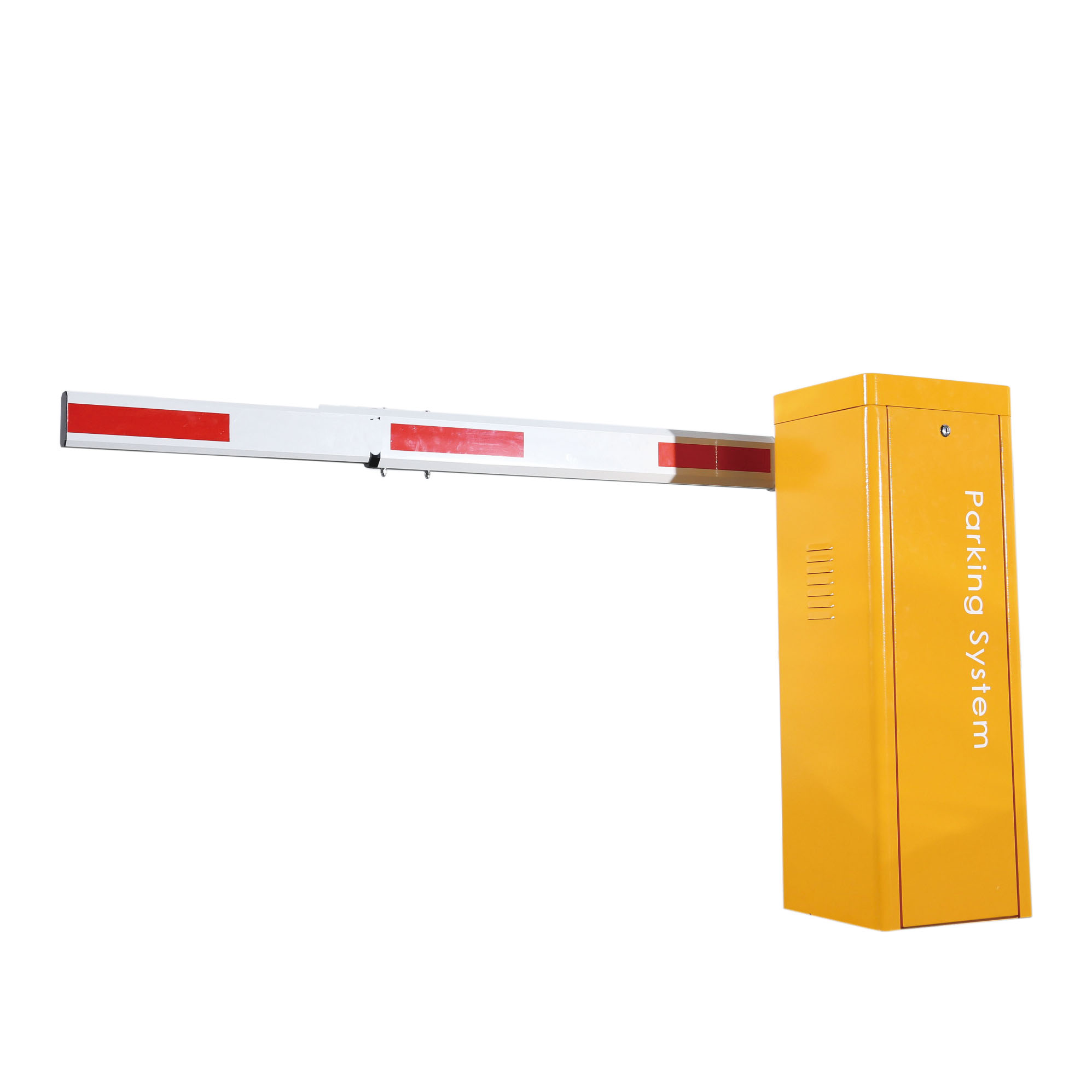 Automatic Electric Boom Barrier Gate Car Parking Barrier 2 Remote Control With 3s Opening Time 4.5m Telescopic Arm Barrier Gate