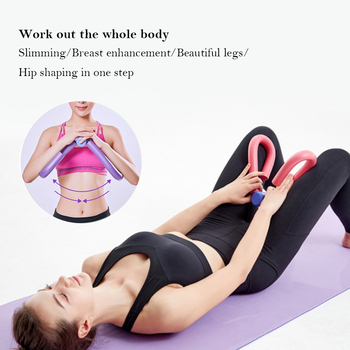 Leg Trainer PVC Thigh Exercisers Home Gym Sports Equipment Thigh Muscle Arm Chest Waist Exerciser Workout Machine Fitness image