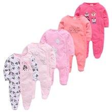 5pcs Baby Pyjamas Newborn Girl Boy Pijamas bebe fille Cotton Breathable Soft ropa bebe Newborn Sleepers Baby Pjiamas