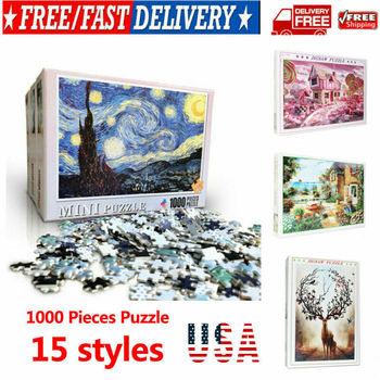 1000 Pieces Scenery Beautiful Jigsaw Puzzles Educational Toys Love Tree Educational Puzzle Toy DIY for Kids/Adults birthday Gift