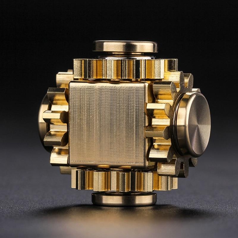 Fidget Spinner Cube Gyro-Gear Edc Toys Decompression Fingertip Adult Mechanical-Gyro img4
