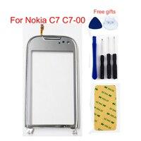 Grau Für Nokia C7 C7 00 Touchscreen Digitizer Sensor Glas Objektiv Panel-in Handy-Touch-Panel aus Handys & Telekommunikation bei