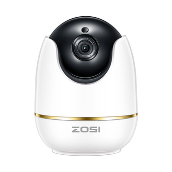ZOSI 1080P HD Wifi Wireless Home Security IP Camera 2.0MP IR Network CCTV Surveillance Camera with Two-way Audio Baby Monitor 180 degree cmos hd 1080p wireless panorama network surveillance camera home security mobile phone wifi remote baby monitor