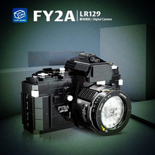 Em estoque 00844 série criativa fy2a lr129 câmera digital blocos de construção modelo kit tijolos educativos crianças diy presentes natal