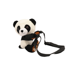 Cute Cartoon Panda Personality Fashion Shoulder Bag Korean Version of The Wild Diagonal Package 2019 Early Autumn Ladies