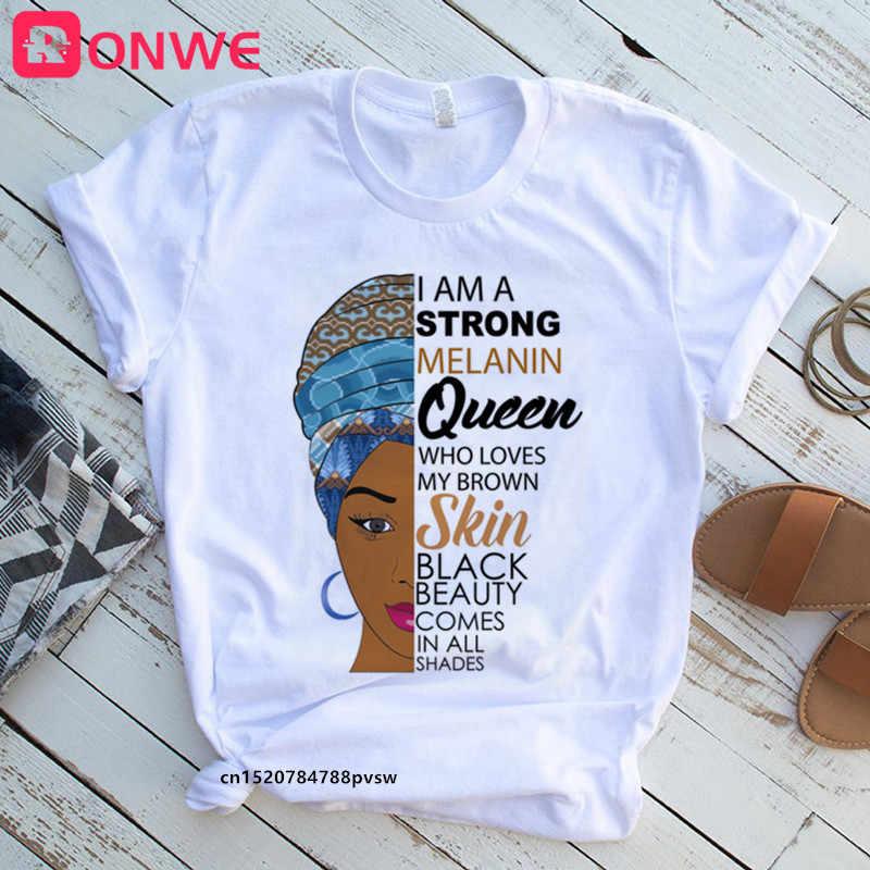 Black African American woman shirt African queen print tank top International women month shirt