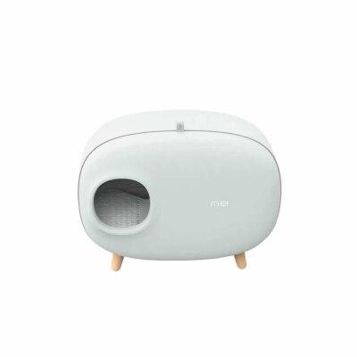 Кошачий Туалет, песочный горшок, полностью герметичный, большой, анти всплеск и запах, ящик, опрокинутый, кошачий навоз, принадлежности для к... - 6