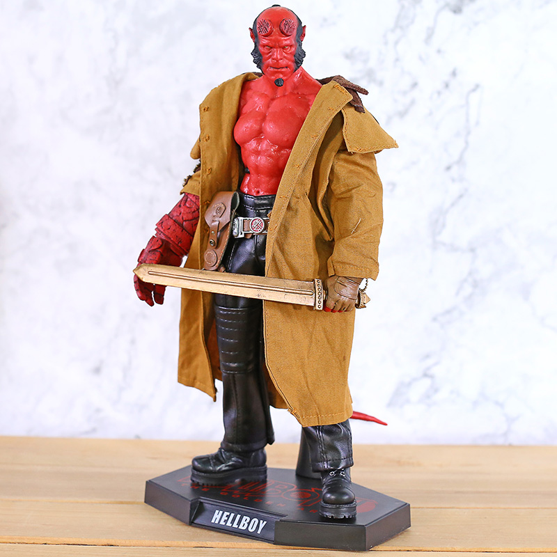 Hot Toys MMS 83 The Golden Army Hellboy II 2 Ron Pearlman 12 Inch  PVC Action Figure Collectible Model Toy