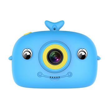 X12 aparat dziecięcy Cartoon cyfrowy DV aparat dziecięcy ręczny kamera sportowa dzieci cyfrowy podwójny aparat chłopiec dziewczyna aparat tanie i dobre opinie centechia 7 1x-16x CN (pochodzenie) Elektroniczny stabilizacja obrazu Brak Full hd (1920x1080) CMOS 1 2 cali 15-45mm 10 0-20 0MP
