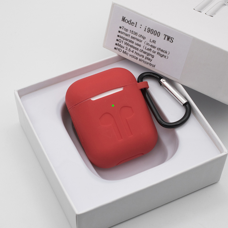 i9000 <font><b>Tws</b></font> 1:1 Wireless Bluetooth <font><b>Smart</b></font> <font><b>Sensor</b></font> Earphones Bass Pop Up PK H1 W1chip i120 i100 i500 i2000 <font><b>TWS</b></font> image