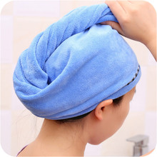 2 шт Rapid микрофибра волос сушки обертывание женщин девушек леди полотенце быстросохнущие волосы шляпа шапка-тюрбан головной убор купальная шапка s 19DEC4