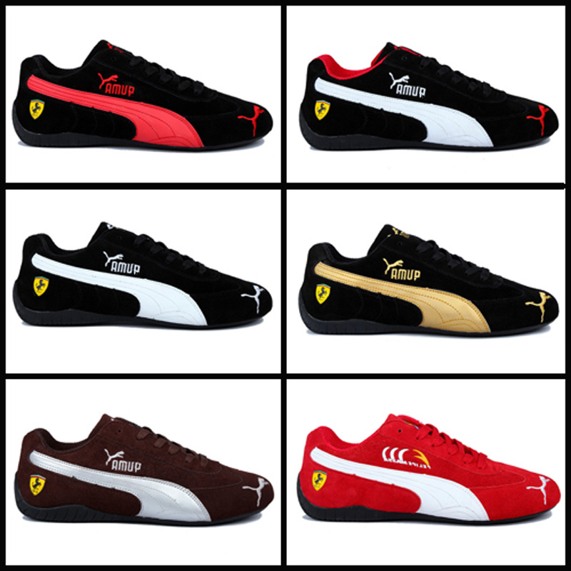 2020 New Pumas Ferrarimotorcycle Men's Shoes Racing Shoes Anti-fur Men's Sneaker Sports Classic Driving Shoes