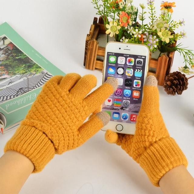 Bright Orange Gloves for Men and Women 4