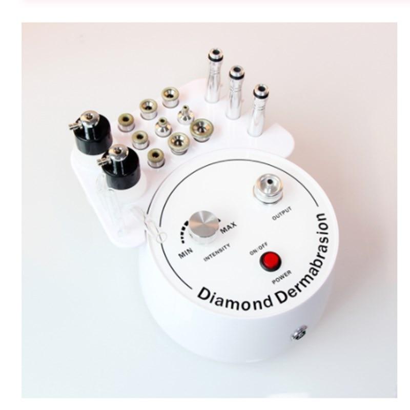 3 In 1 Diamond Microdermabrasion Peeling Vacuum Spray Skin Rejuvenation Facial Machine Pore Blackhead Removal Beauty Device