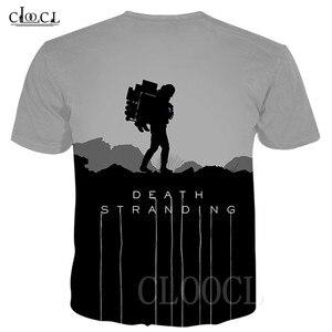 Image 2 - יוניסקס T חולצה מות והעמד היפ הופ Tshirts 3D הדפסת משחק אנימה T חולצת קיץ אופנה מזדמן סוודר לגברים נשים Dropship
