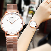 Couple's Watches ROSDN Luxury Brand Japan MIYOTA Quartz Movement Women's Watch Waterproof Sapphire 7mm Ultra thin Clock R3232W
