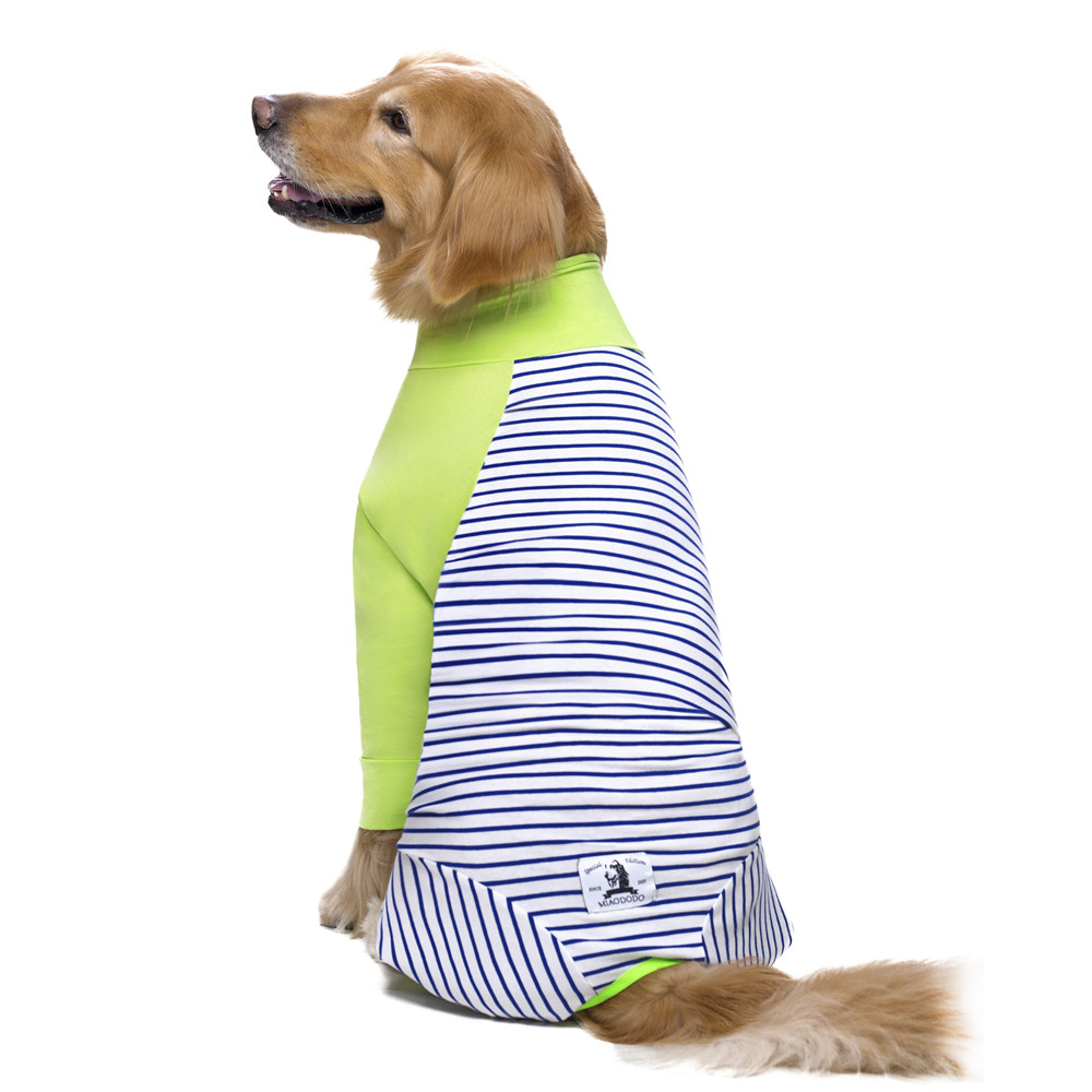 Striped Large dog clothes (8)