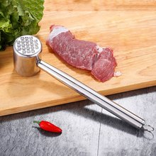 Profession 304 Stainless Steel Meat Tenderizer Hammer Double-sided Steak Beefsteak Pounder Mallet Kitchen Tools