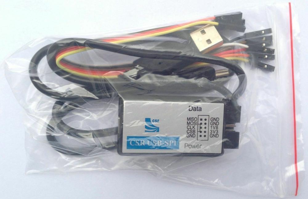 Free Shipping CSR USB-SPI ISP Bluetooth USB SPI Download Module Chip Programmer Debugger