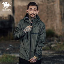 Spring Autumn Military Tactical Outerwear Windbreaker Men S Thin Zipper Jackets Hooded Casual Sporting 4 colour men