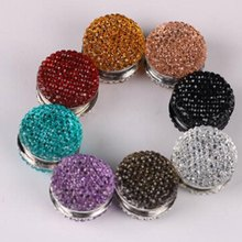 1 PC Baru Fashion Penuh Langit Resin Muslim Jilbab Magnetik Bros Syal Magnet Pin Warna Acak(China)