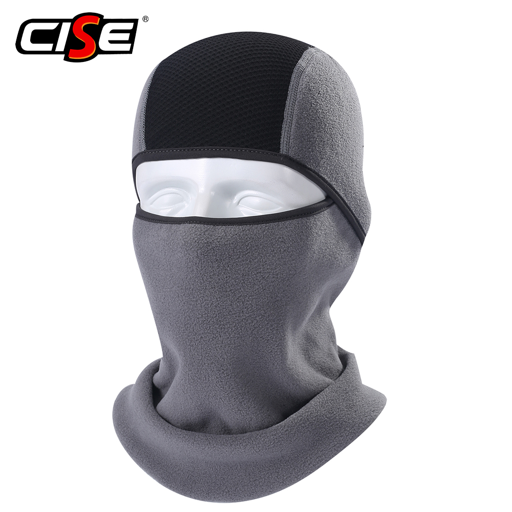 Winter Thermal Fleece Balaclava Full Face Mask Warmer Motorcycle Cycling Hood Liner Sports Ski Bike Bicycle Snowboard Shield Hat