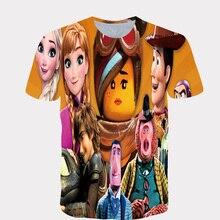 Children t-shirt boy/girl big kawaii short sleeve shirt children funny jacket