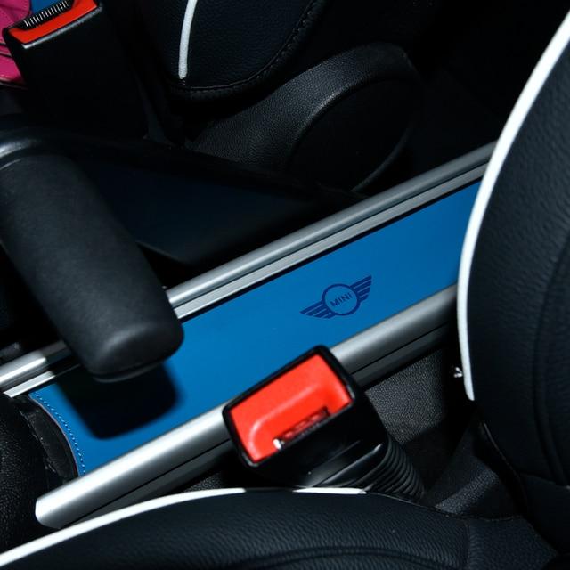 For BMW MINI Cooper Car Cup Anti-slip Pad Mat F54 F55 F56 R60 Coffee Cushion Storage Groove Protect Coaster Interior Accessories