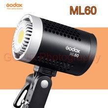 Godox – éclairage LED pour photographie d'extérieur, Original, réglage de la luminosité, avec alimentation ca, ML-60 ML 60W 5600K