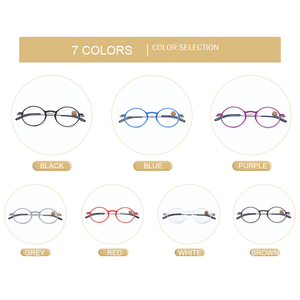 Image 5 - IENJOY Reading Glasses Blue Light Blocking Glasses TR90 Computer Readers Women Men Round Black Frames Pocket Presbyopia Reader